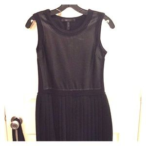 BCBG Max Azria Black sleeveless cocktail dress, XS